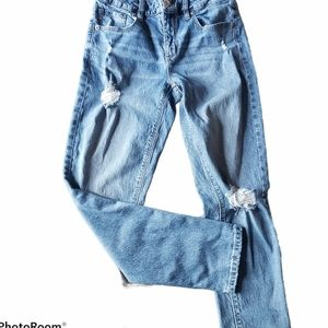 Garage Distressed Ripped Jeans Size 5